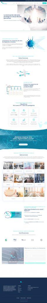 Proyectos web realizados en ciberesfera